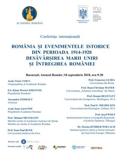 romania-si-evenimentele-istorice-din-perioada-1914---1920